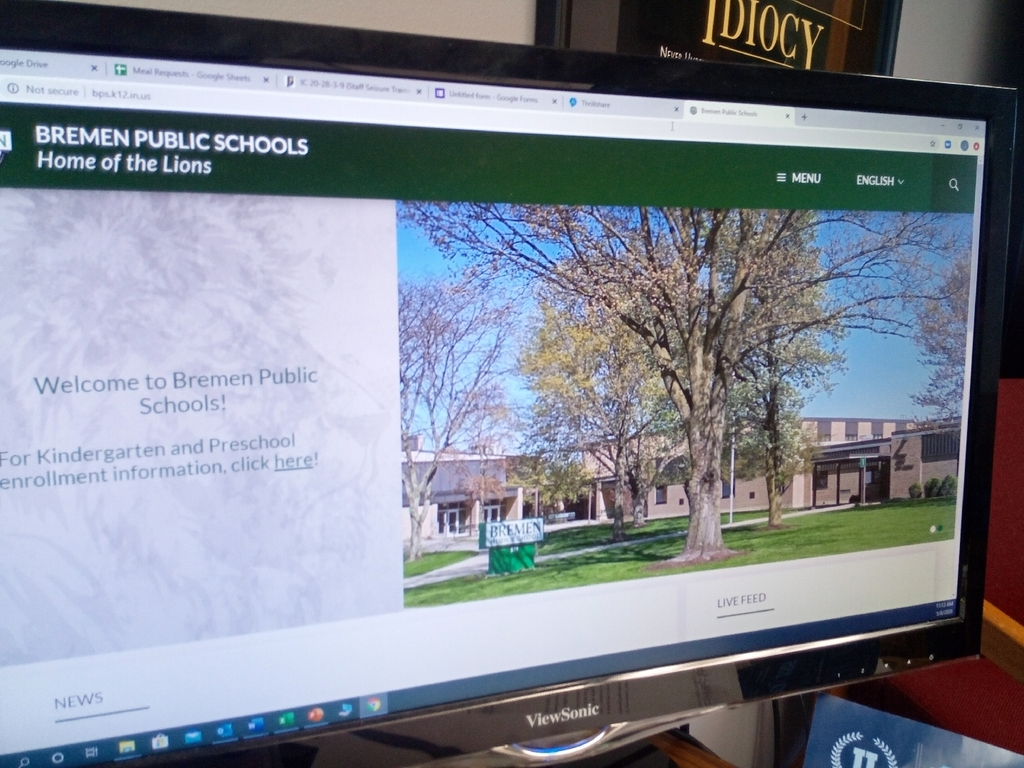 photo of BPS website