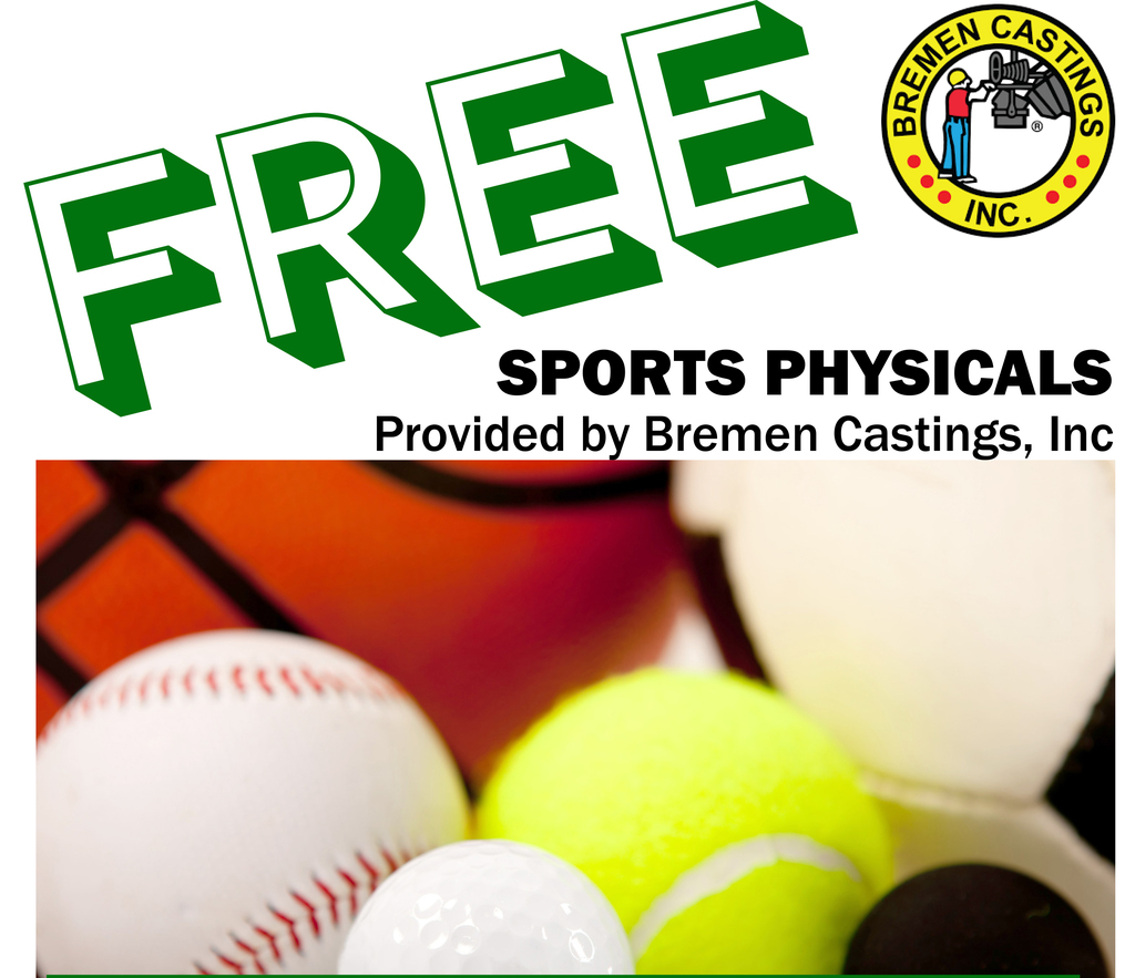 BCI Sponsored FREE Sports Physicals