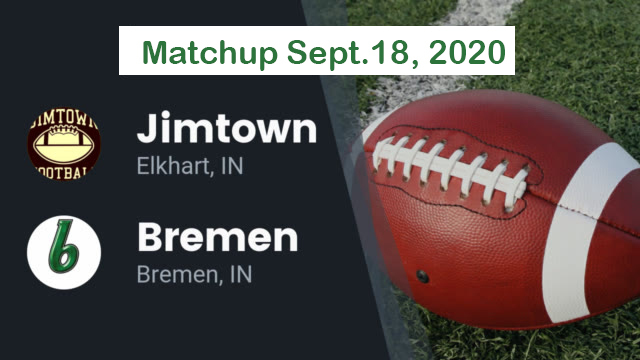 Bremen Jimtown Football Matchup Sept 18 2020